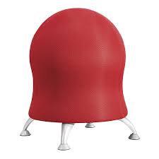 כיסא פיזיו ארגונומי אדום