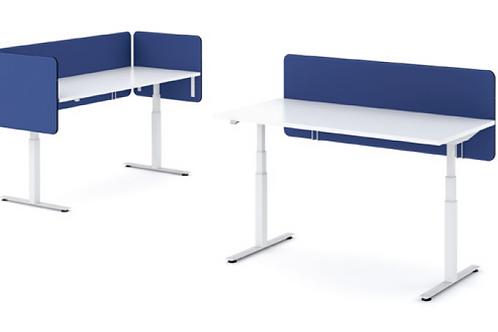 פנלים אקוסטיים שולחן בודד בד NEMO