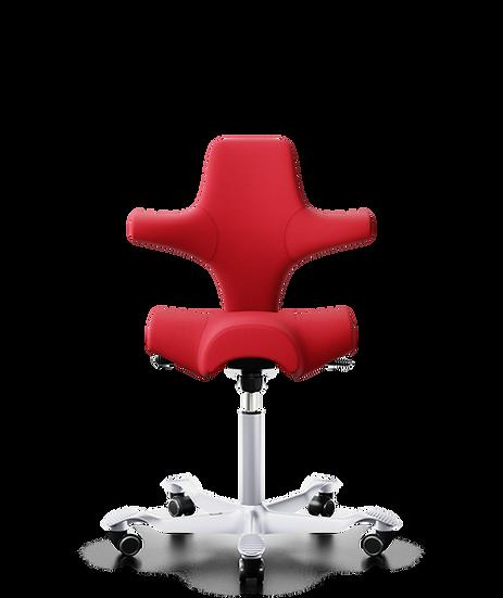 כיסא משרדי ריפוד מלא אדום