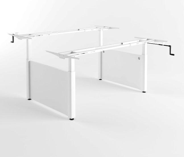 שולחן מנואלה כפול