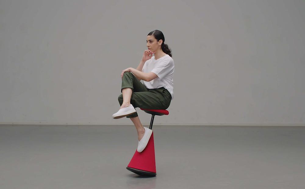 שפרף איזון, כיסא עבודה אקטיבי, כיסא עמידה ישיבה