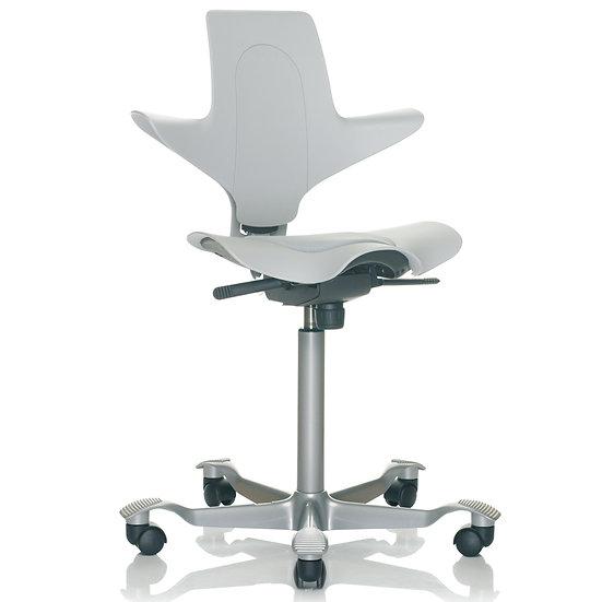 כיסא משרדי פלסטי אפור