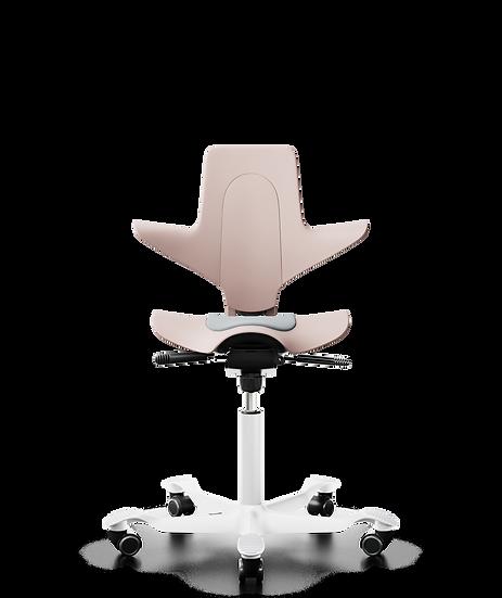 כיסא משרדי פלסטי ורוד