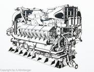 Schiffsdiesel Motor