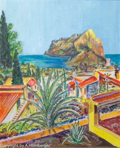 Calpe mit Ifac (Spanien)