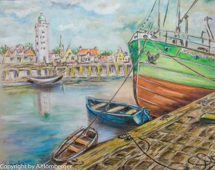 Hafen in Holland