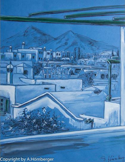 Lanzarote in blau