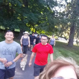 Laughter Hike - Regeneron #3