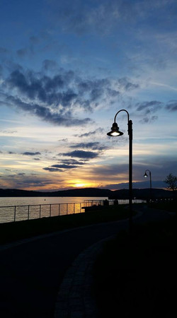 Lighted Sunset