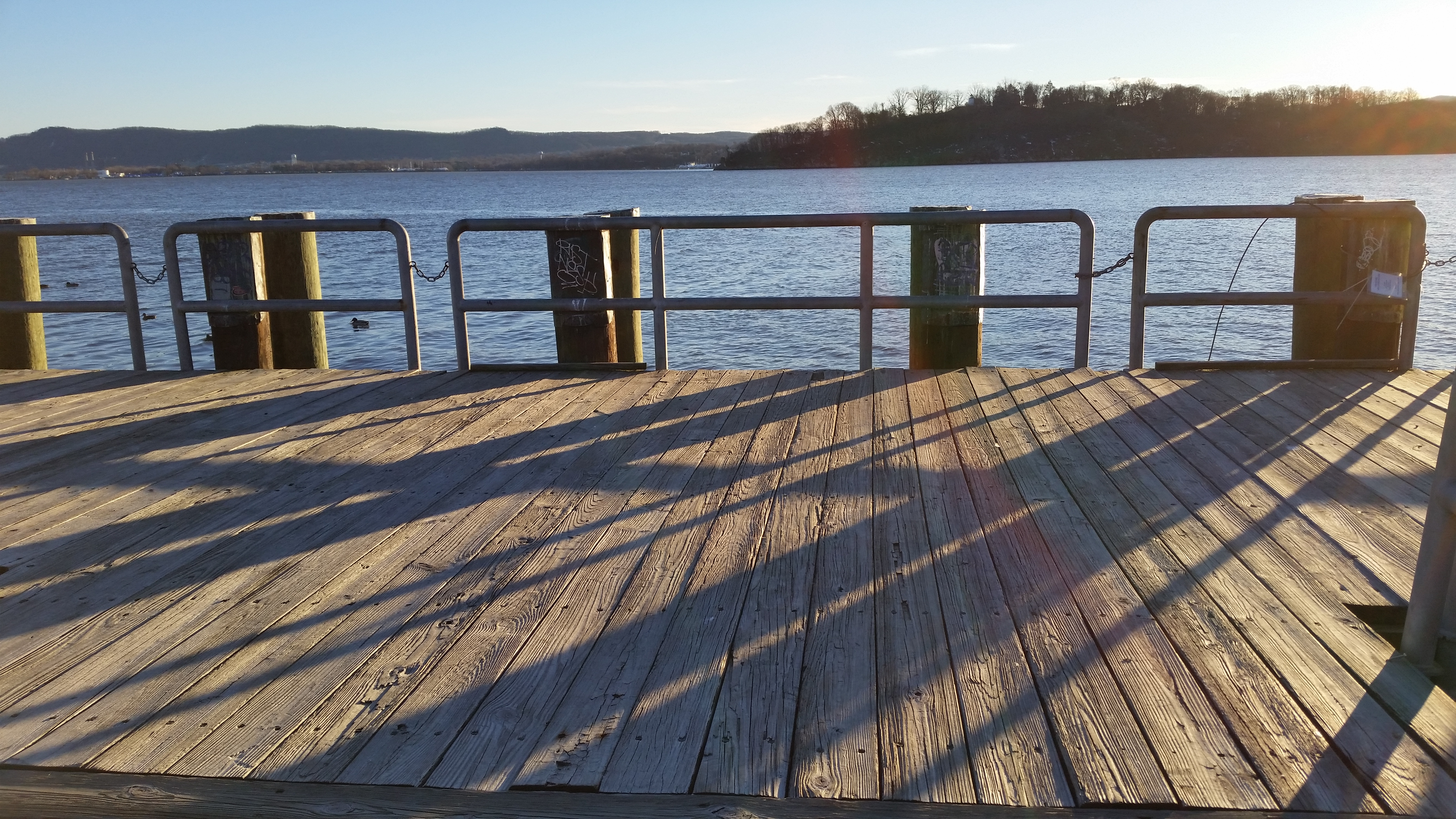 Dock Shadows