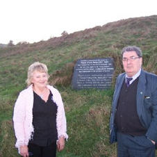Hazel mcintyre and John Hume