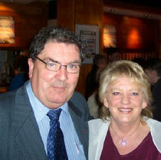 Hazel with John Hume