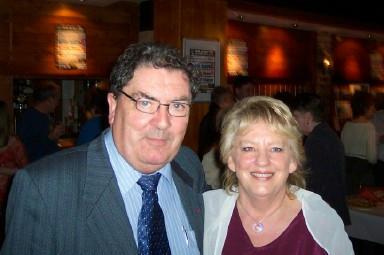 Hazel with John Hume