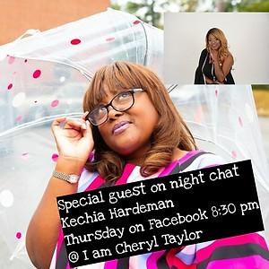 Author/podcast host: Kechia Hardeman