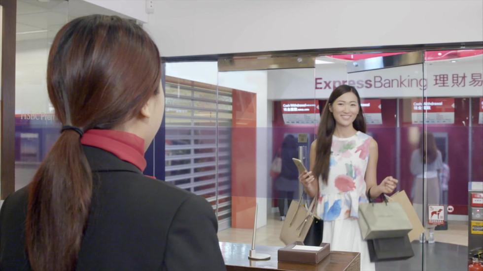 HSBC Digital Counter Service Promotional Video