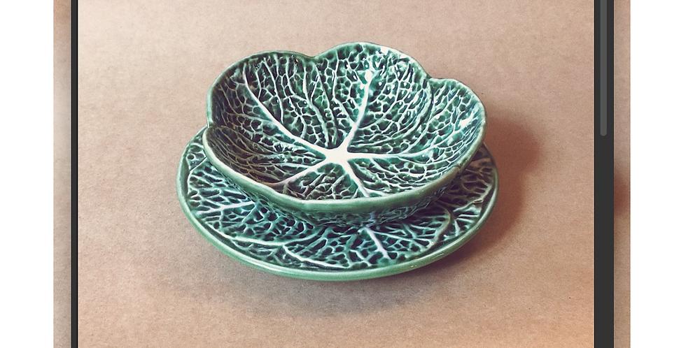 Kale Bowl & Plate