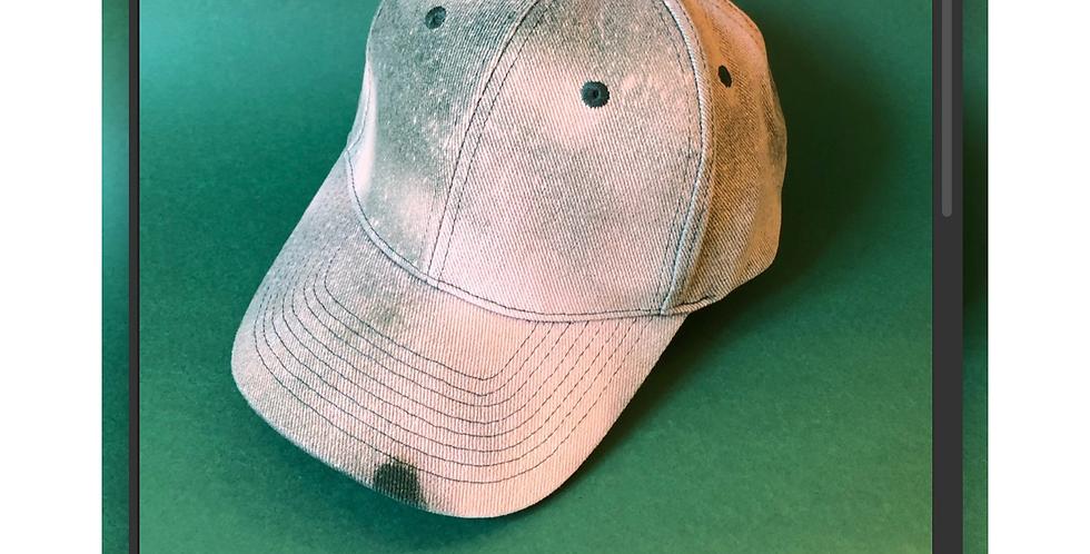 English Green Tie Dye Classic Baseball Cap