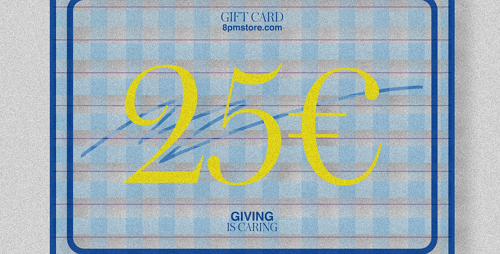 Gift Card - Blue