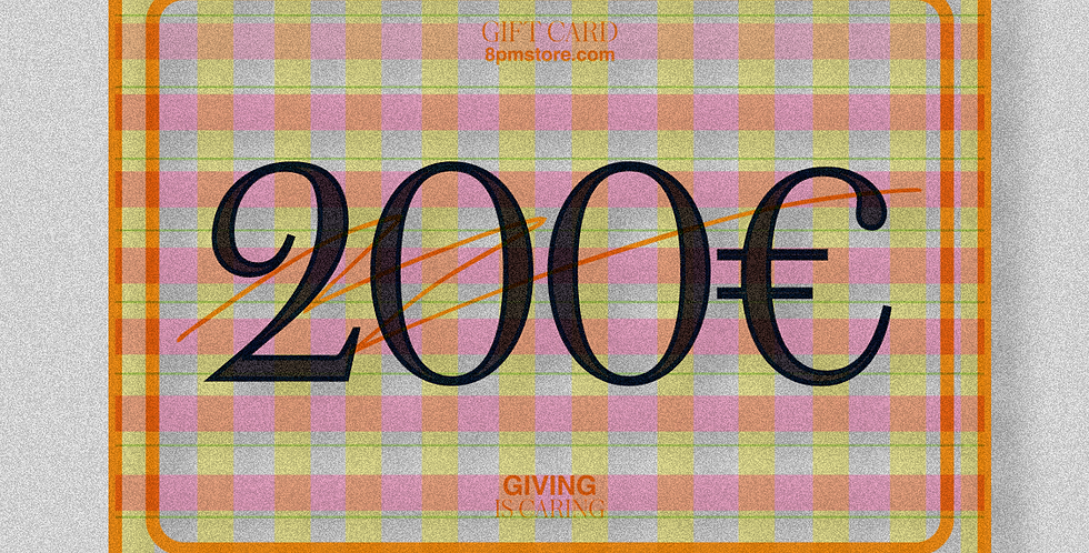 Gift Card - Orange
