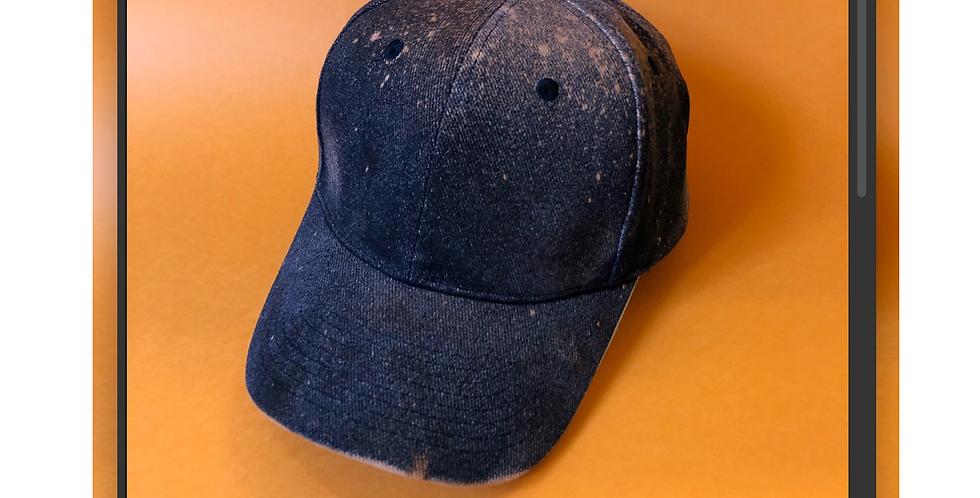 Tie Dye Black Classic Baseball Cap