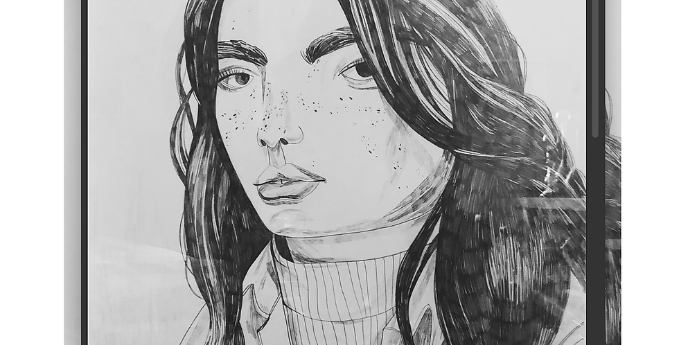 Portrait of a Girl, 2017