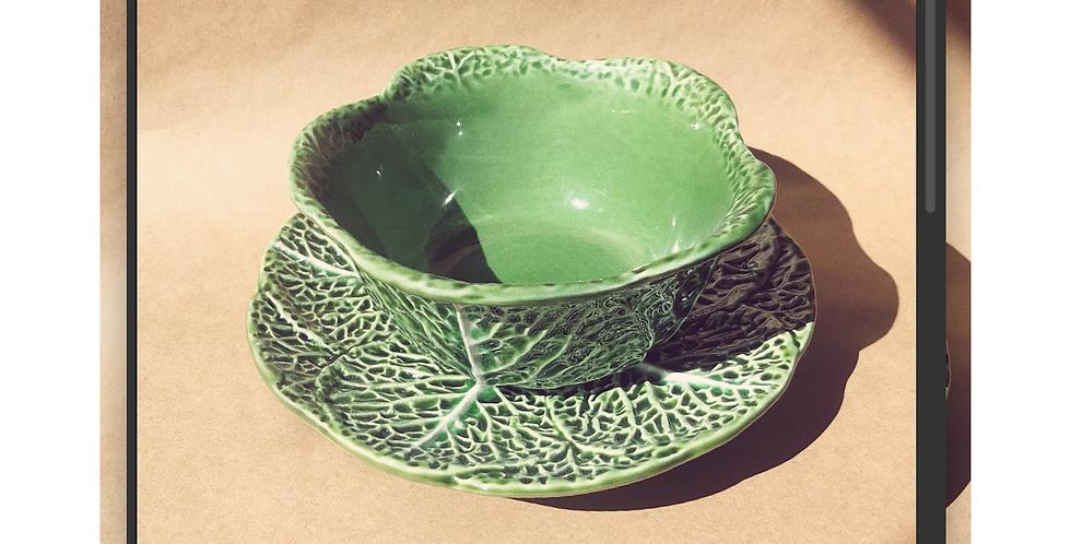 Kale Set Plate + Bowl