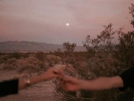 Et la douceur s'installe : Pleine Lune de Mars.