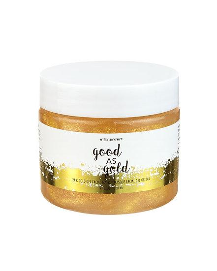 Good as Gold 24K Gold Gel Facial Mask