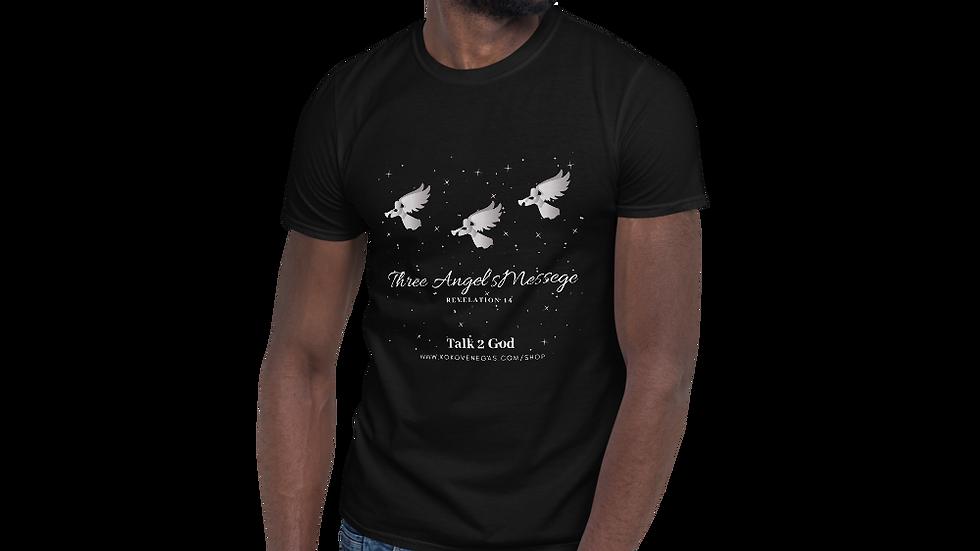 Three Angel's Messege Short-Sleeve Unisex T-Shirt