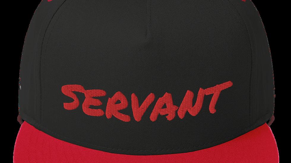 Servant Flat Bill Cap (Galatians 5:13)