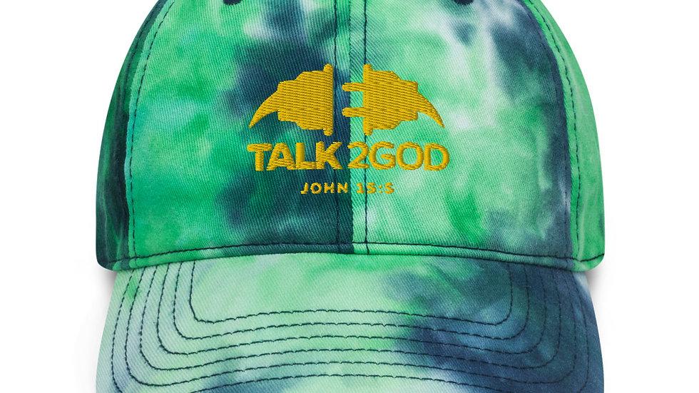 Talk2God Tie dye hat