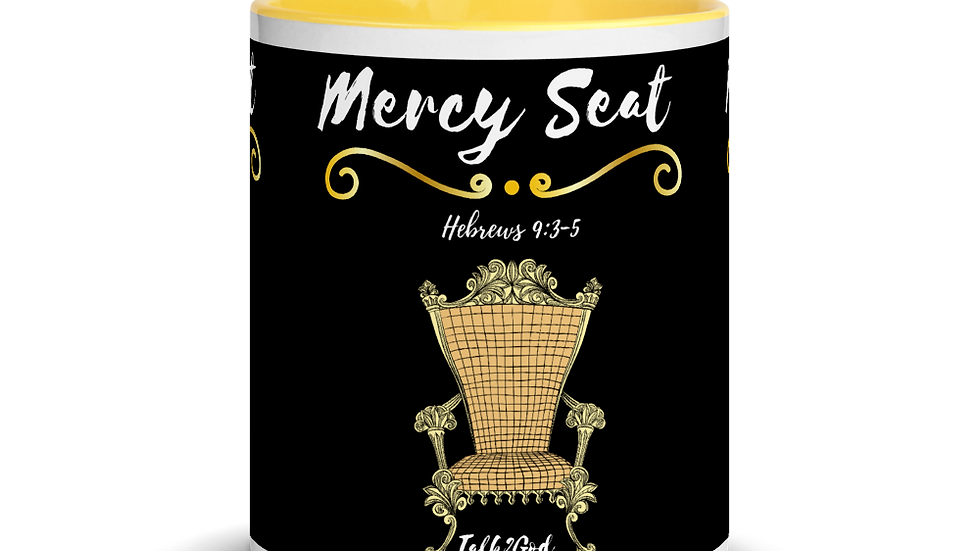 Mercy Seat Mug with Color Inside