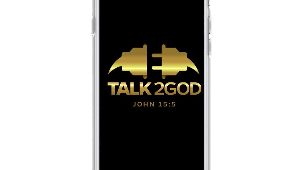 Talk2God iPhone Case