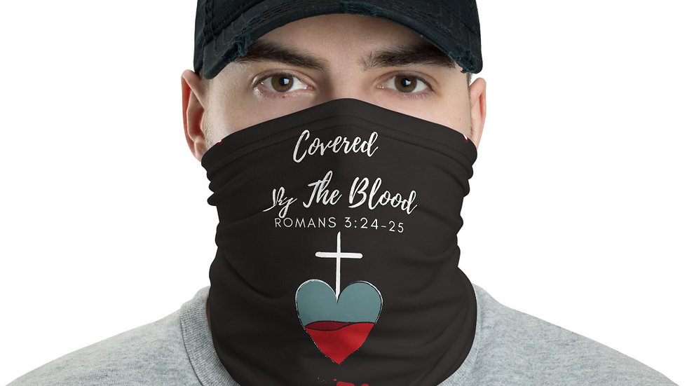 Covered By The Blood Neck Gaiter