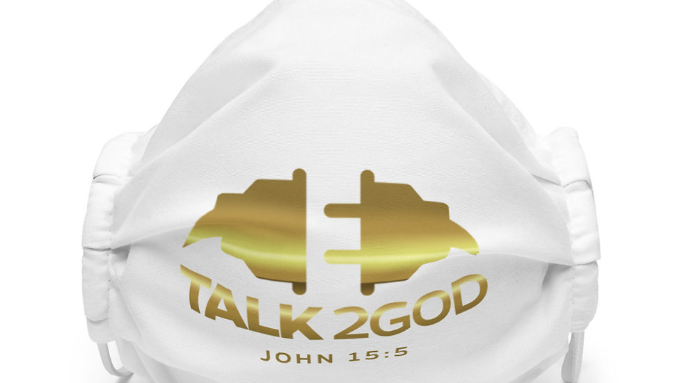 Talk2God (Premium face mask)
