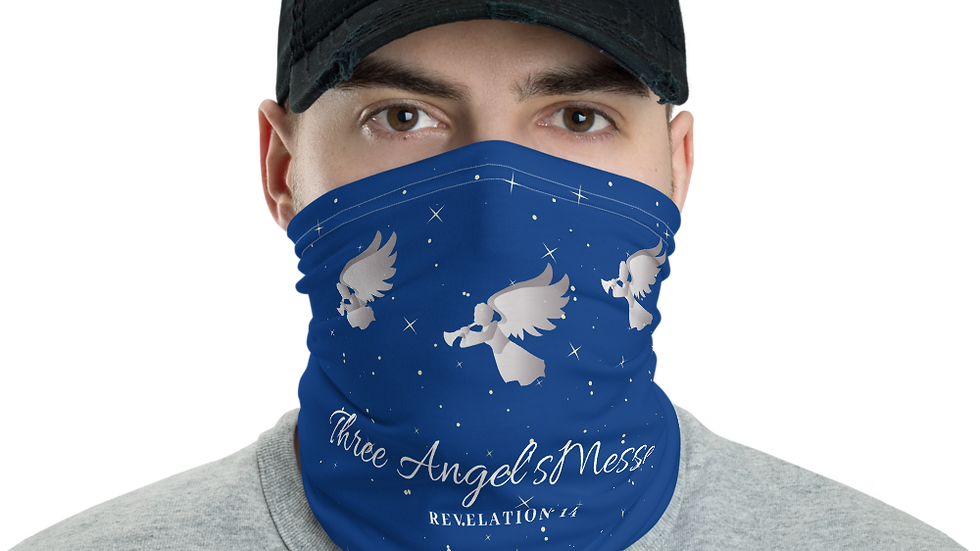 Three Angel's Messege Neck Gaiter