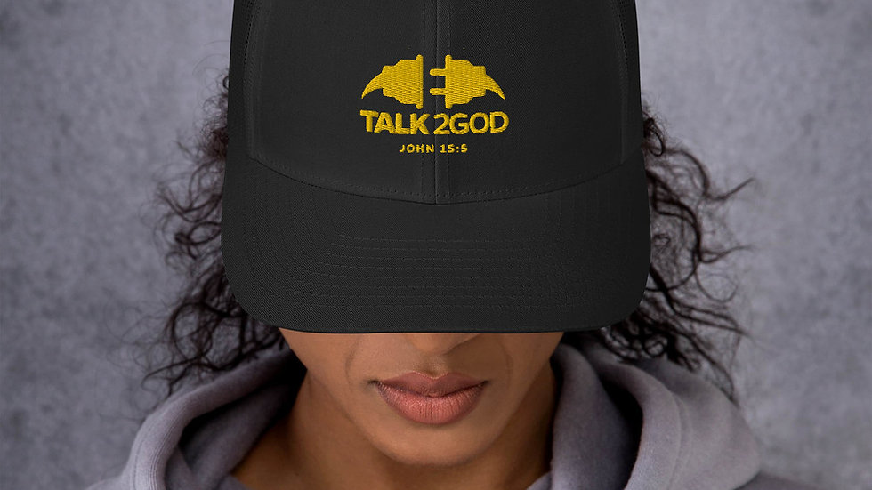 Talk2God Trucker Cap