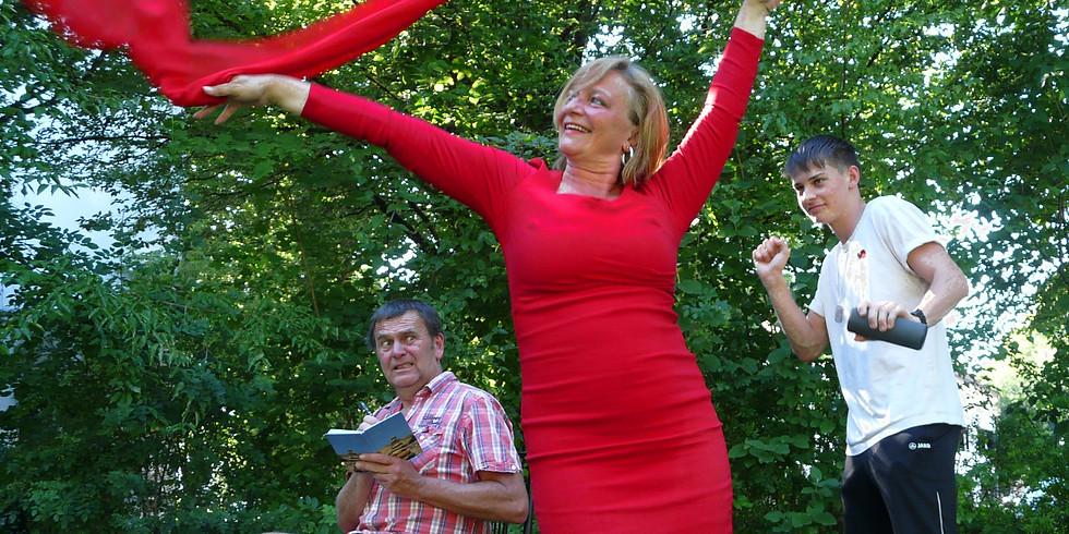 Haag - Obstgartentheater: Ellen oder die Affäre Doppelherz