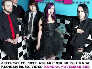 ALTERNATIVE PRESS PREMIERES NEW REQUIEM MUSIC VIDEO NOVEMBER 3RD!