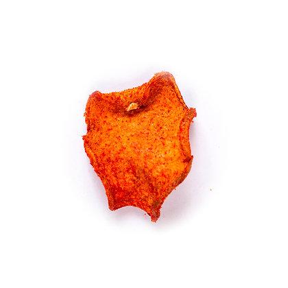 Chips de jícama horneada con chile