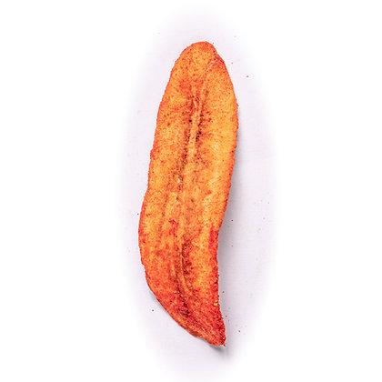 Chips de plátano horneado con chile