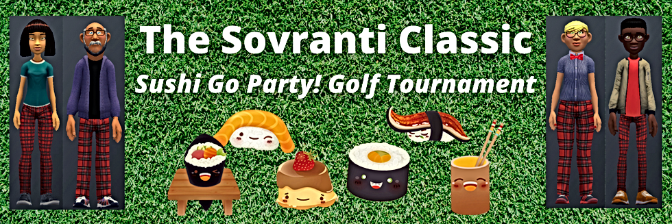 Sushi Go Party! Golf The Sovranti Classi