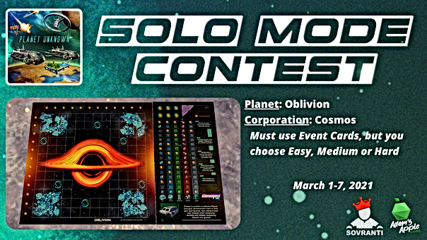 Solo Mode Contest (Facebook Event Covers
