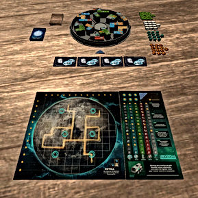 Free online board game - Planet Unknown.