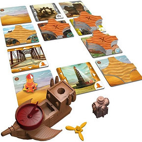 Play Board Games online - Forbidden Dese