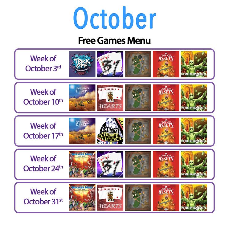 October Silver FREE Menu.png