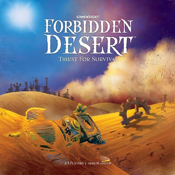 GAMA Game Night - Forbidden Desert (6-8pm ET)