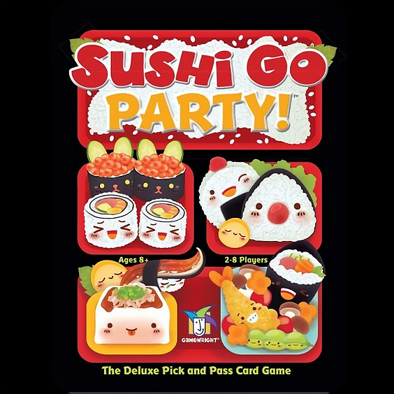 GAMA Game Night - Sushi Go Party! Golf (6-7pm ET)