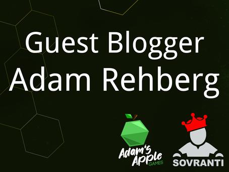 Guest Blogger: Adam Rehberg
