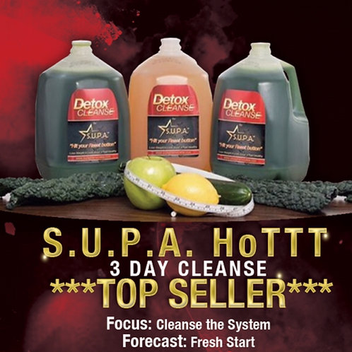 S.U.P.A. Hottt 3-Day Cleanse